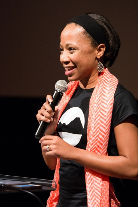 Angela Harris at Quartz Mountain in 2015